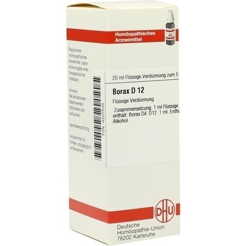 BORAX D12, 20 ML, Dhu-Arzneimittel GmbH & Co. KG