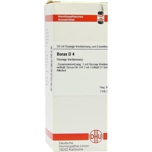 BORAX D 4, 50 ML, Dhu-Arzneimittel GmbH & Co. KG