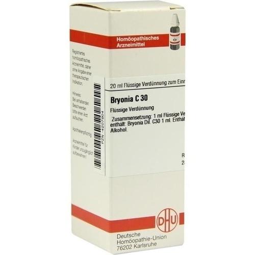 BRYONIA C30, 20 ML, Dhu-Arzneimittel GmbH & Co. KG