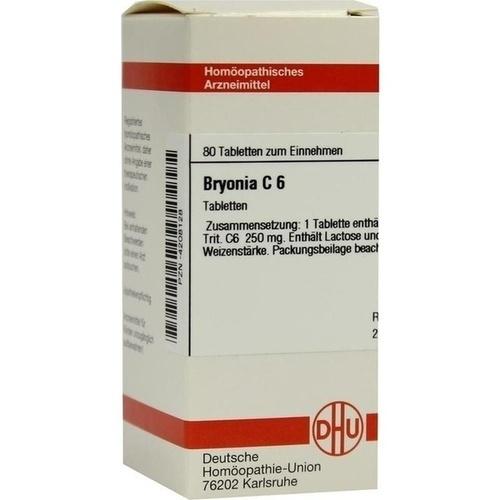BRYONIA C 6, 80 ST, Dhu-Arzneimittel GmbH & Co. KG