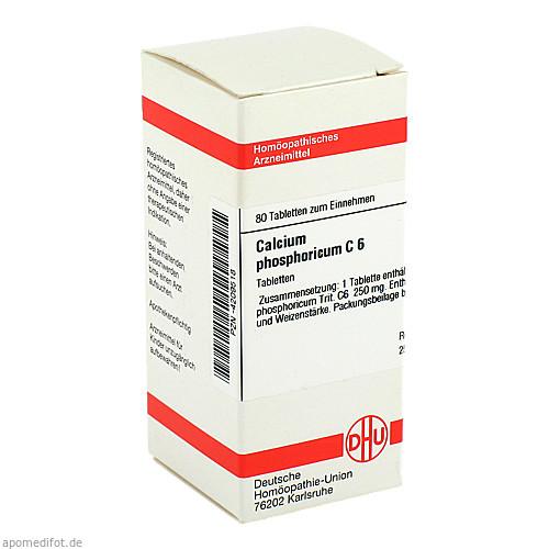 CALCIUM PHOS C 6, 80 ST, Dhu-Arzneimittel GmbH & Co. KG