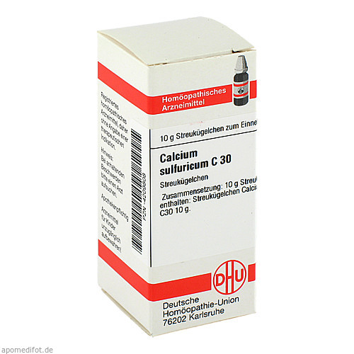 CALCIUM SULF C30, 10 G, Dhu-Arzneimittel GmbH & Co. KG