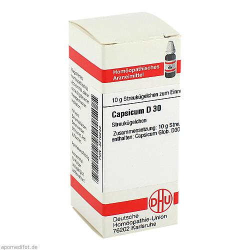 CAPSICUM D30, 10 G, Dhu-Arzneimittel GmbH & Co. KG