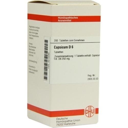 CAPSICUM D 6, 200 ST, Dhu-Arzneimittel GmbH & Co. KG