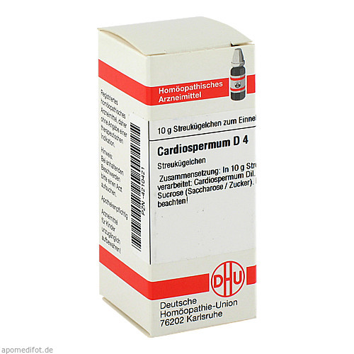 CARDIOSPERMUM D 4, 10 G, Dhu-Arzneimittel GmbH & Co. KG
