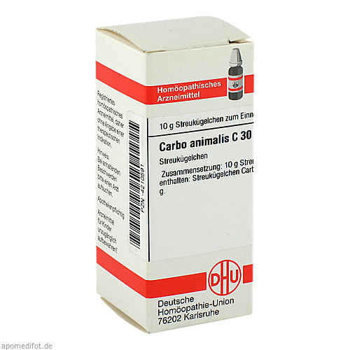 CARBO ANIMALIS C30, 10 G, Dhu-Arzneimittel GmbH & Co. KG