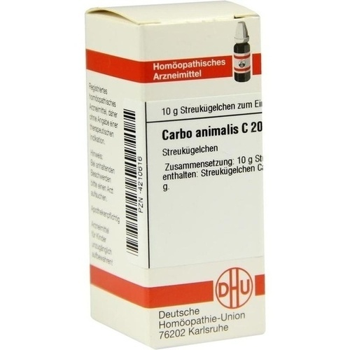 CARBO ANIMALIS C200, 10 G, Dhu-Arzneimittel GmbH & Co. KG