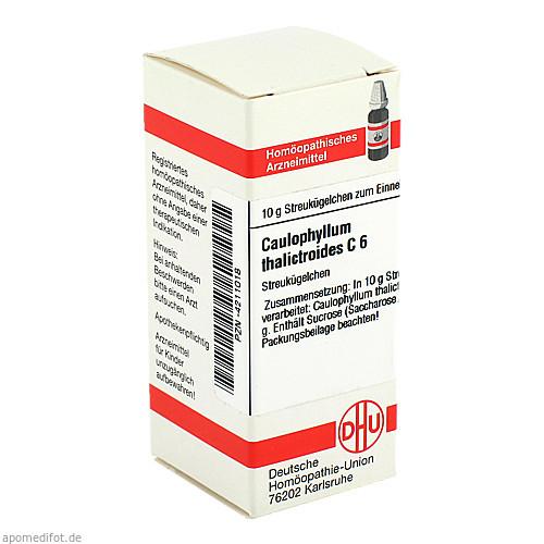 CAULOPHYLLUM THA C 6, 10 G, Dhu-Arzneimittel GmbH & Co. KG