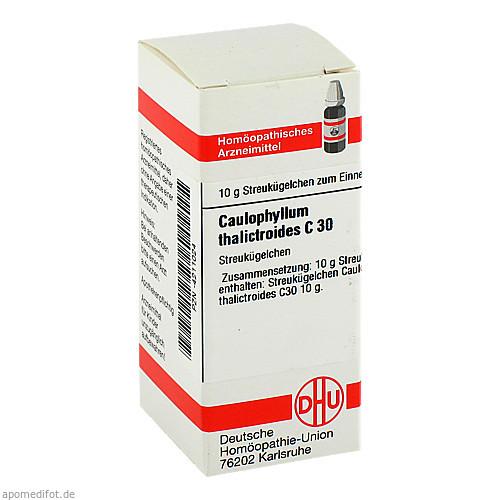 CAULOPHYLLUM THA C30, 10 G, Dhu-Arzneimittel GmbH & Co. KG