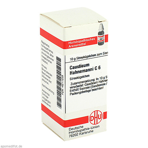 CAUSTICUM HAHNEM C 6, 10 G, Dhu-Arzneimittel GmbH & Co. KG