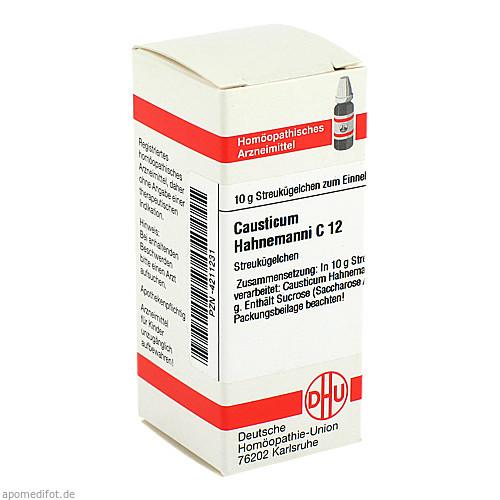 CAUSTICUM HAHNEM C12, 10 G, Dhu-Arzneimittel GmbH & Co. KG