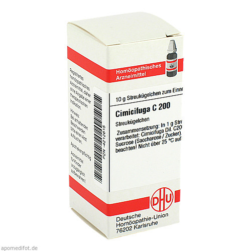 CIMICIFUGA C200, 10 G, Dhu-Arzneimittel GmbH & Co. KG