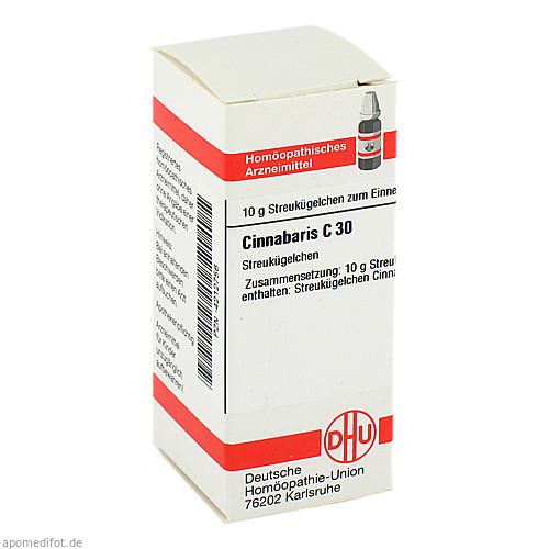 CINNABARIS C30, 10 G, Dhu-Arzneimittel GmbH & Co. KG