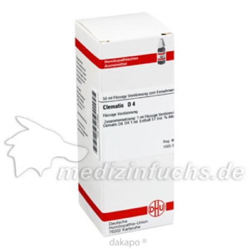 CLEMATIS D 4, 50 ML, Dhu-Arzneimittel GmbH & Co. KG