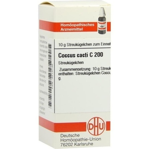 COCCUS CACTI C200, 10 G, Dhu-Arzneimittel GmbH & Co. KG