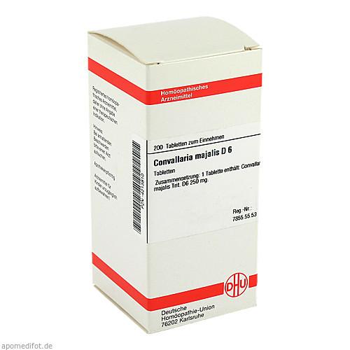 CONVALLARIA MAJAL D 6, 200 ST, Dhu-Arzneimittel GmbH & Co. KG