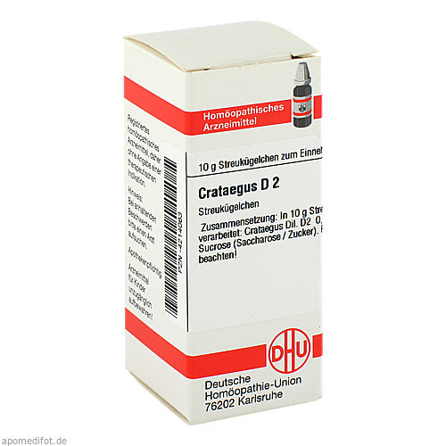 CRATAEGUS D 2, 10 G, Dhu-Arzneimittel GmbH & Co. KG