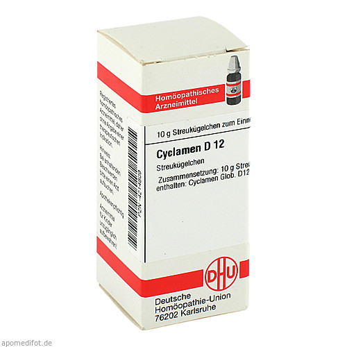 CYCLAMEN D12, 10 G, Dhu-Arzneimittel GmbH & Co. KG