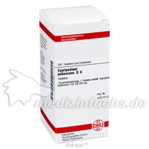 CYPRIPEDIUM PUBESC D 6, 200 ST, Dhu-Arzneimittel GmbH & Co. KG