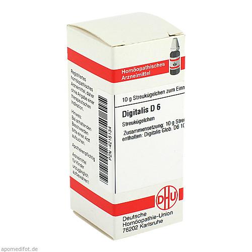DIGITALIS D 6, 10 G, Dhu-Arzneimittel GmbH & Co. KG