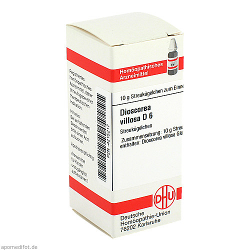 DIOSCOREA VILLOS D 6, 10 G, Dhu-Arzneimittel GmbH & Co. KG