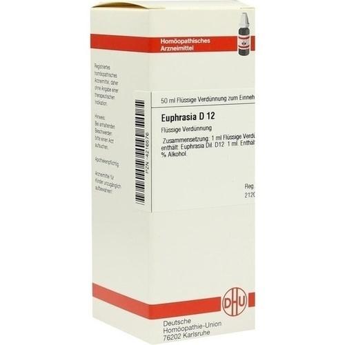 EUPHRASIA D12, 50 ML, Dhu-Arzneimittel GmbH & Co. KG