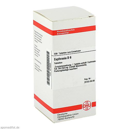 EUPHRASIA D 6, 200 ST, Dhu-Arzneimittel GmbH & Co. KG
