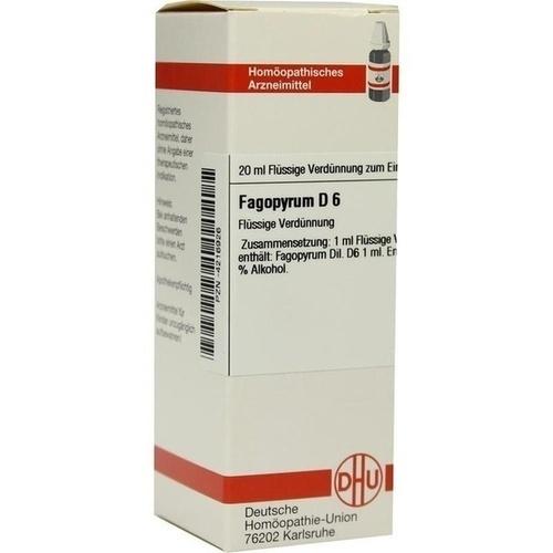 FAGOPYRUM D 6, 20 ML, Dhu-Arzneimittel GmbH & Co. KG