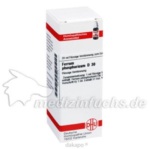 FERRUM PHOS D30, 20 ML, Dhu-Arzneimittel GmbH & Co. KG