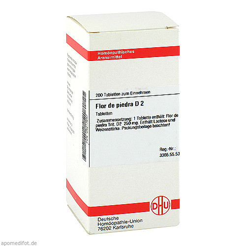 FLOR DE PIEDRA D 2, 200 ST, Dhu-Arzneimittel GmbH & Co. KG