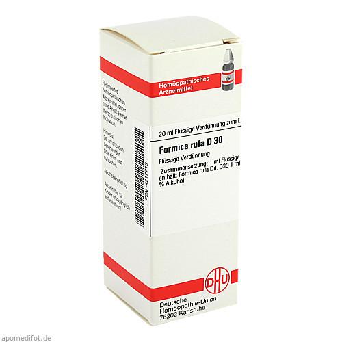 FORMICA RUFA D30, 20 ML, Dhu-Arzneimittel GmbH & Co. KG