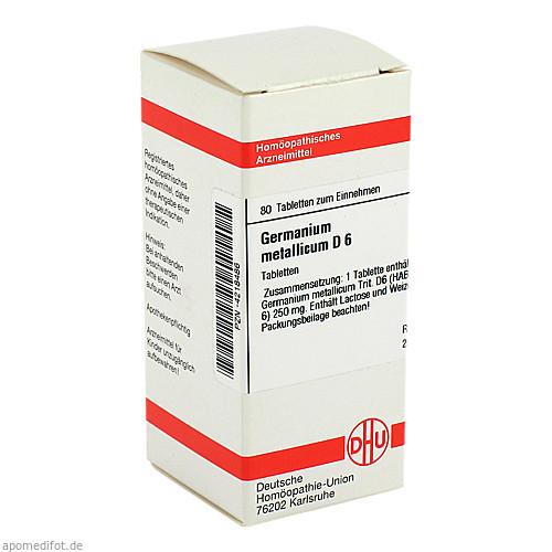 GERMANIUM MET D 6, 80 ST, Dhu-Arzneimittel GmbH & Co. KG