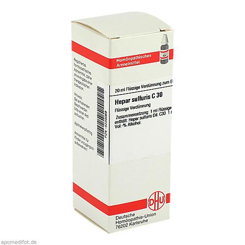 HEPAR SULF C30, 20 ML, Dhu-Arzneimittel GmbH & Co. KG