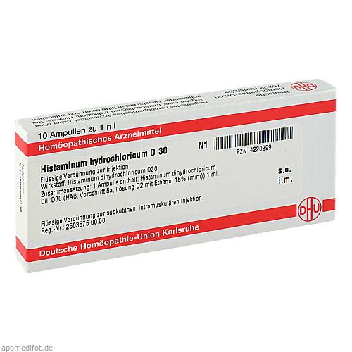 HISTAMINUM HYDROCHLOR D30, 10X1 ML, Dhu-Arzneimittel GmbH & Co. KG