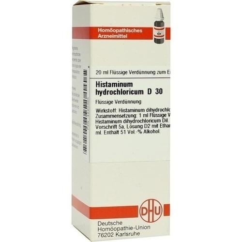 HISTAMINUM HYDROCHLOR D30, 20 ML, Dhu-Arzneimittel GmbH & Co. KG