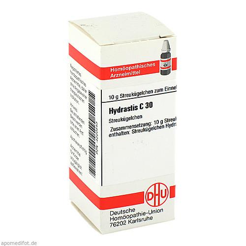 HYDRASTIS C 30 Globuli, 10 G, DHU-Arzneimittel GmbH & Co. KG