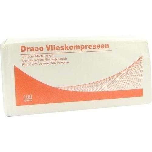 Vlieskompressen 10x10cm unsteril 8fach, 100 ST, Dr. Ausbüttel & Co. GmbH