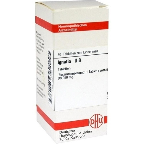 IGNATIA D 8, 80 ST, Dhu-Arzneimittel GmbH & Co. KG