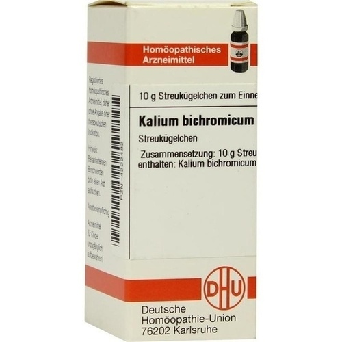 KALIUM BICHROM D200, 10 G, Dhu-Arzneimittel GmbH & Co. KG