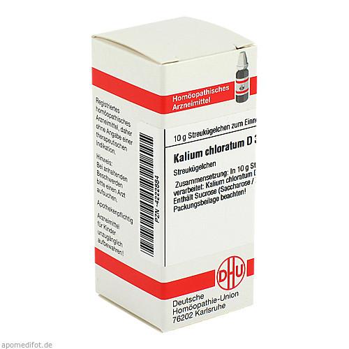 KALIUM CHLORAT D30, 10 G, Dhu-Arzneimittel GmbH & Co. KG