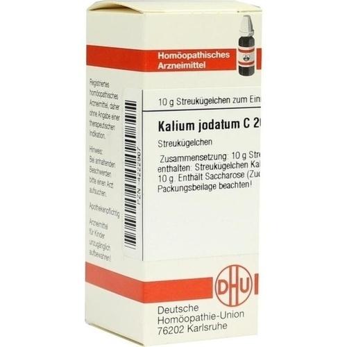 KALIUM JODAT C200, 10 G, Dhu-Arzneimittel GmbH & Co. KG