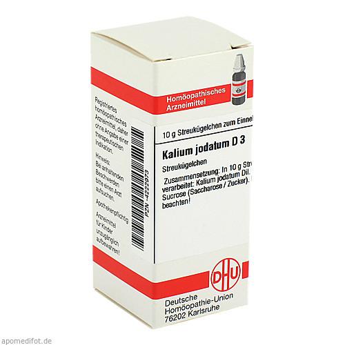 KALIUM JODAT D 3, 10 G, Dhu-Arzneimittel GmbH & Co. KG