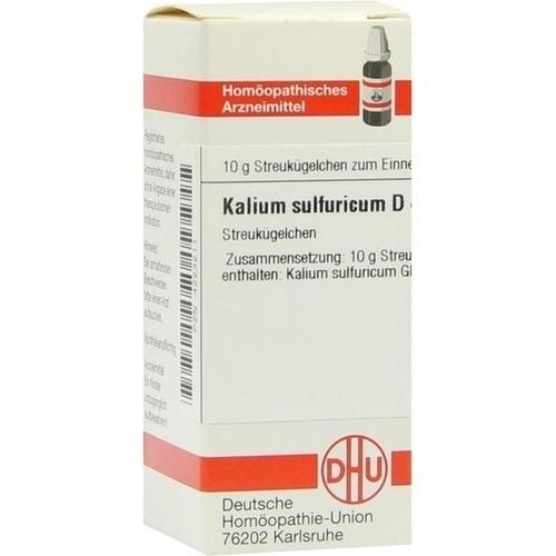 KALIUM SULFURICUM D 4, 10 G, Dhu-Arzneimittel GmbH & Co. KG