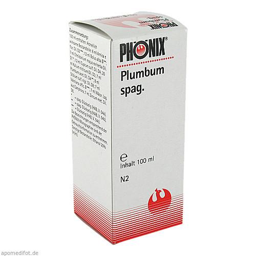 PHÖNIX Plumbum spag., 100 ML, Phönix Laboratorium GmbH