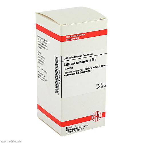 LITHIUM CARB D 6, 200 ST, Dhu-Arzneimittel GmbH & Co. KG