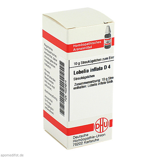 LOBELIA INFLATA D 4, 10 G, Dhu-Arzneimittel GmbH & Co. KG