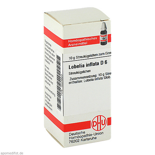 LOBELIA INFLATA D 6, 10 G, Dhu-Arzneimittel GmbH & Co. KG