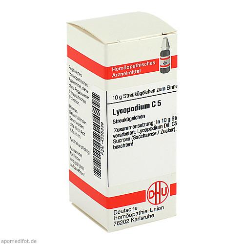 LYCOPODIUM C 5 Globuli, 10 G, DHU-Arzneimittel GmbH & Co. KG
