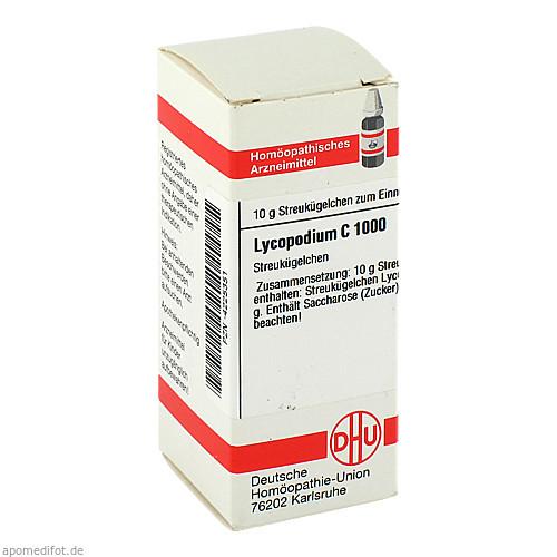 LYCOPODIUM C1000, 10 G, Dhu-Arzneimittel GmbH & Co. KG