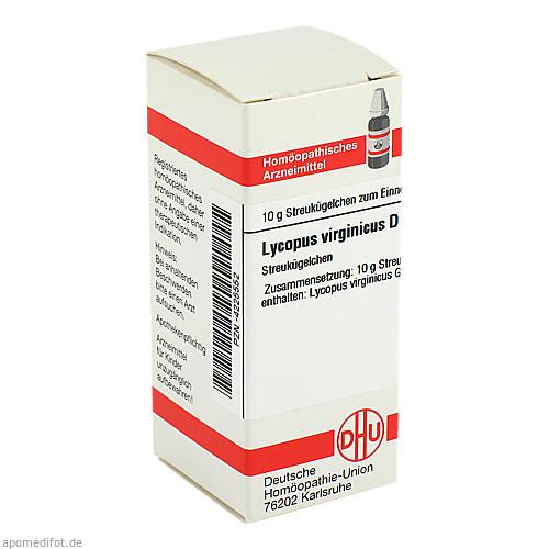 LYCOPUS VIRG D 4, 10 G, Dhu-Arzneimittel GmbH & Co. KG